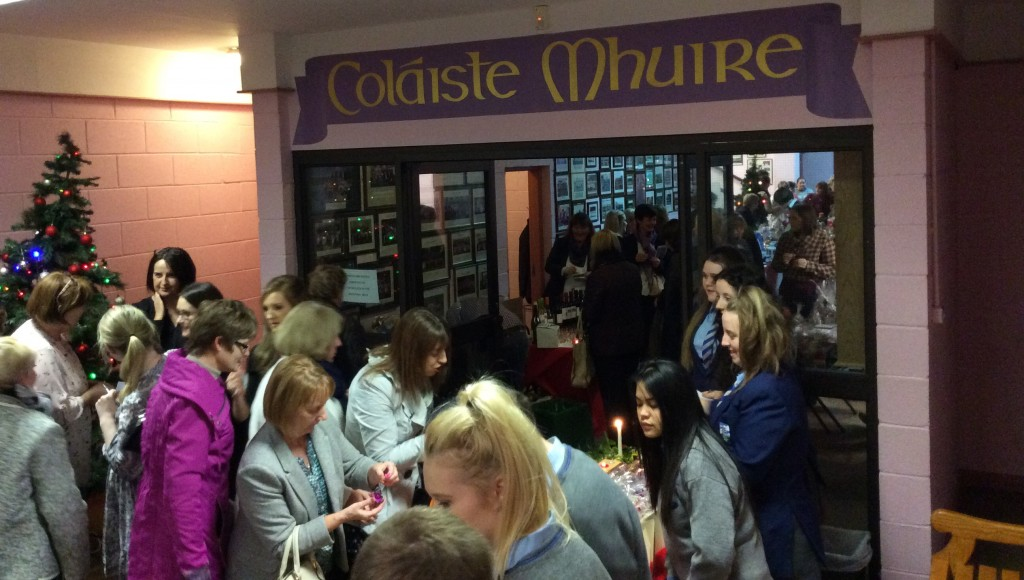 Busy scenes from the highly successful Festive Food & Craft Fair @ Coláiste Mhuire Johnstown on Thursday, 27th November 2014