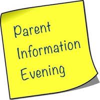 Parents Info Evening