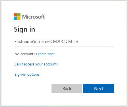 Accessing Office 365